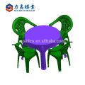Mesa plástica vendedora caliente del hogar de la tabla plástica y molde de la silla