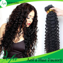 Cheveux vierges indiens de qualité supérieure, Extension de cheveux humains Remy