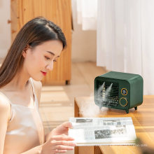 Best Selling 2021 Air Cooler Fan Portable USB Rechargeable Personal Small Water Evaporation Air Conditioner Humidifier Fan