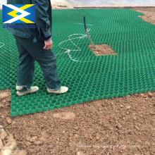 Pelouse en plastique en nid dabeille stabilisateur de gravier pavage dallee grille
