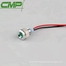 Waterproof IP67 Panel Size 8mm Indicator Lamp With Cable