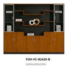High Quality Luxury Antique Wooden Large Open Office File Cabinet (FOH-FC-R2420-B)