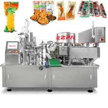 Automatic Premdade Pouch Food Vacuum Packaging Machine For Chicken