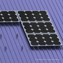 Metal Roof Mini Rail Panel Solar Kit Montaje en techo solar