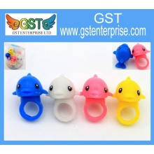 1 3/4'' Light Up Dolphin Plastic Rings