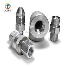 piezas personalizadas de latón válvula de bola de acero