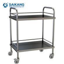 SKH006 ISO9001 & 13485 Factory Hohe Qualität Gebrauchte Krankenhaus Behandlung Trolley