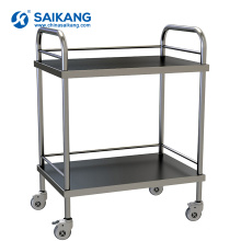 SKH006 ISO9001 & 13485 Fábrica De Alta Qualidade Usado Tratamento Hospitalar Trolley