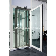 Residential small home lift traction type without machine room