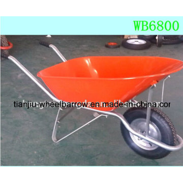 Wheelbarrow Design Made in China Heavy Duty Steel Wheelbarrow Wb6800