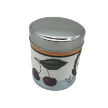 Paper Sticker No Pritning Tin Box Food Tin Container Box