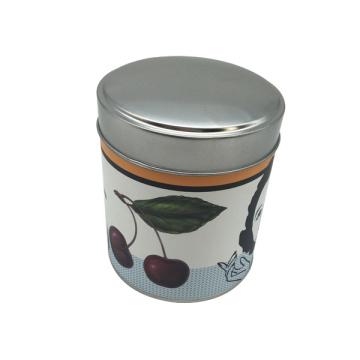 Papier Sticker Kein Pritning Tin Box Lebensmittel Tin Container Box