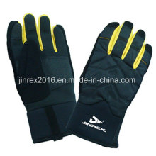 Warm Winter Windproof Sports Ski Outdoor Full Fingers Glove-Jg10z028