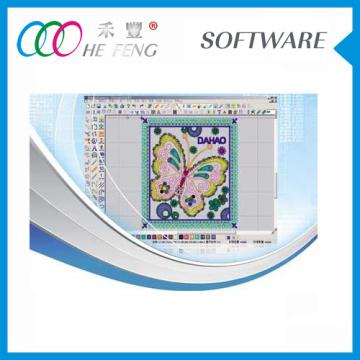 Dahao Digitizing Software EMCAD for embroidery machine