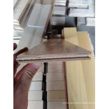Plancher de bois d'ingénierie de bouleau multi-couche
