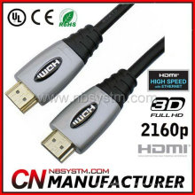Mini cabo HDMI 1.4 2160p com alta velocidade