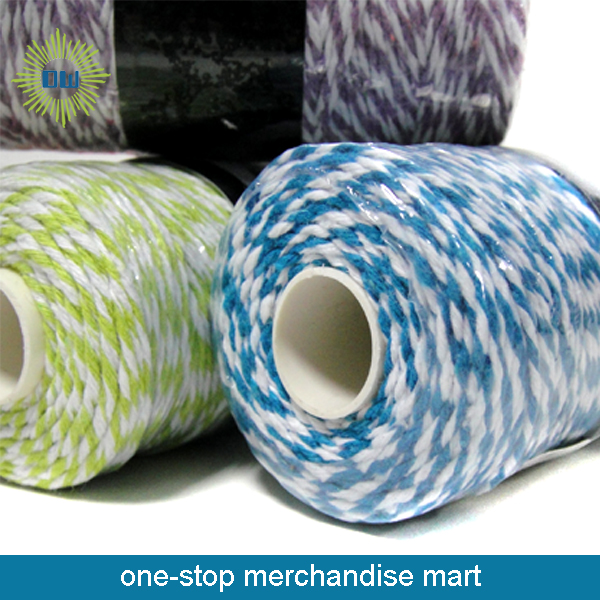 High Quality Colored Cotton Twine Rope for Sale