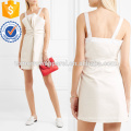 Lace-trimmed Cotton Mini Dress Manufacture Wholesale Fashion Women Apparel (TA4088D)