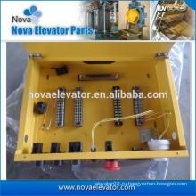 Желтая распределительная коробка для лифтов