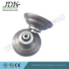 Q20 Morceaux continu de rouleaux de diamant pour le profilage de bordure de dalle de granit
