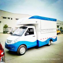 Camión de la comida de 4X2 CNG / mini camión móvil de la comida rápida / camión móvil de la comida / camión de la comida movible / carro de la comida / van de la comida / remolque de la comida