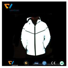 high visibility glow in the dark luminous reflective jacket / photoluminescent reflective jacket