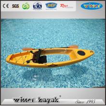 One Paddler Max Single Deluxe Asiento trasero transparente Kayak