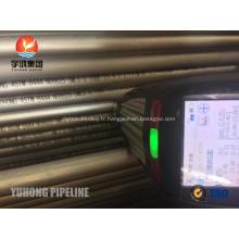B444 Gr.2 UNS N06625 Tube de courbure en U pour l'échangeur de chaleur