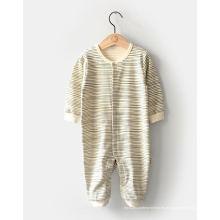 Mameluco orgánico del bebé de la moda hecho en China