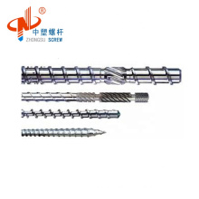 zhoushan top quality nitriding single injection screw and barrel