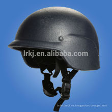Casco balístico militar ligero NIJ IIIA PASGT (Kevlar / PE)