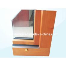 Perfil de alumínio / alumínio para janelas e cortinas (RAL-593)