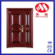 2017 Steel Fire Door con CCC e informe de prueba, Son-Mother Security Door