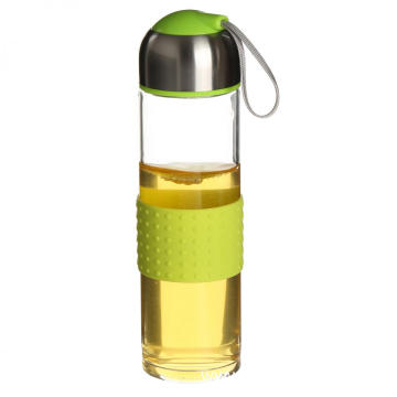 Sport Drinking Glass Water Bottle