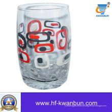 Alta qualidade com Decal Copo de vidro de vidro de venda quente Kb-Hn0406