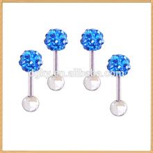 Wholesale fashion 316L surgical steel body piercing jewelry stud earrings