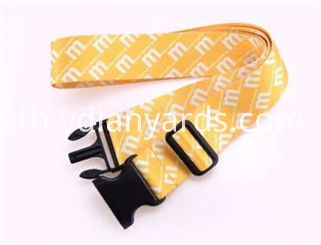Custom Logo Printing Suitcase Belt Strap Luggaage Strap