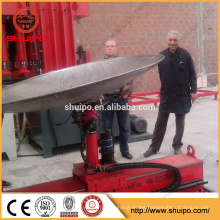 2017 SHUIPO machine Dished end flanging machine Dished head machine