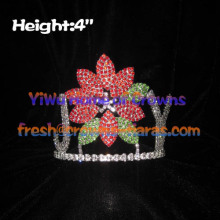 JOY Flower Crystal Pageant Crowns
