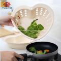 Plastic 2 in 1 Drainer Storage Basket Kitchen Accessories
