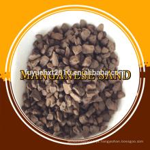 Areia de manganês natural para água Ferro Remover