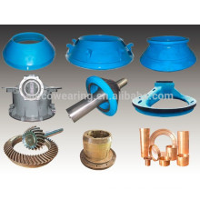 High Manganese Casting Steel-Mantle and Bowl liner cone crusher parts