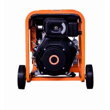 горячая распродажа 6 кВА AC одиночной фазы воздух-охлаженный портативный тепловозный генератор двигателя