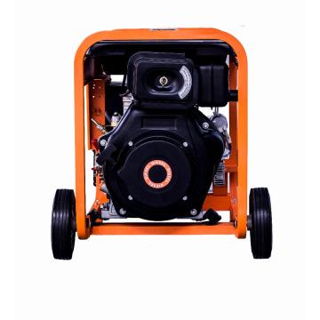 heißer verkauf 6kva AC einphasig luftgekühlten tragbaren dieselmotor generator