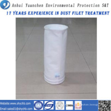 Nichtgewebtes Nadel-gelochtes Filter-Wasser und ölabweisende Fiberglas-Staub-Filter-Tasche für Industrie