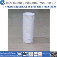 A agulha não tecida perfurou o saco de filtro da poeira da fibra de vidro da água e do óleo do filtro repelente de óleo para a indústria