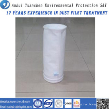 Nonwoven Needle Punched Filter Water and Oil Repellent Fiberglass Dust Filter Bag for Industry