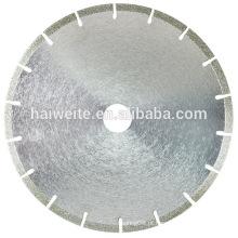 Lâmina de corte galvanizada para mármore / lâmina de serra de diamante