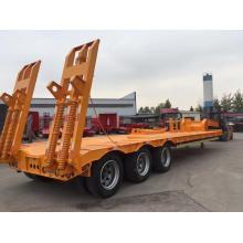 Remorque surbaissée 3 essieux 60 tonnes