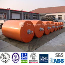 certificated high performance Pu/rubber PE/EVA skin foam filled fenders